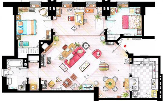 Model Home Layout