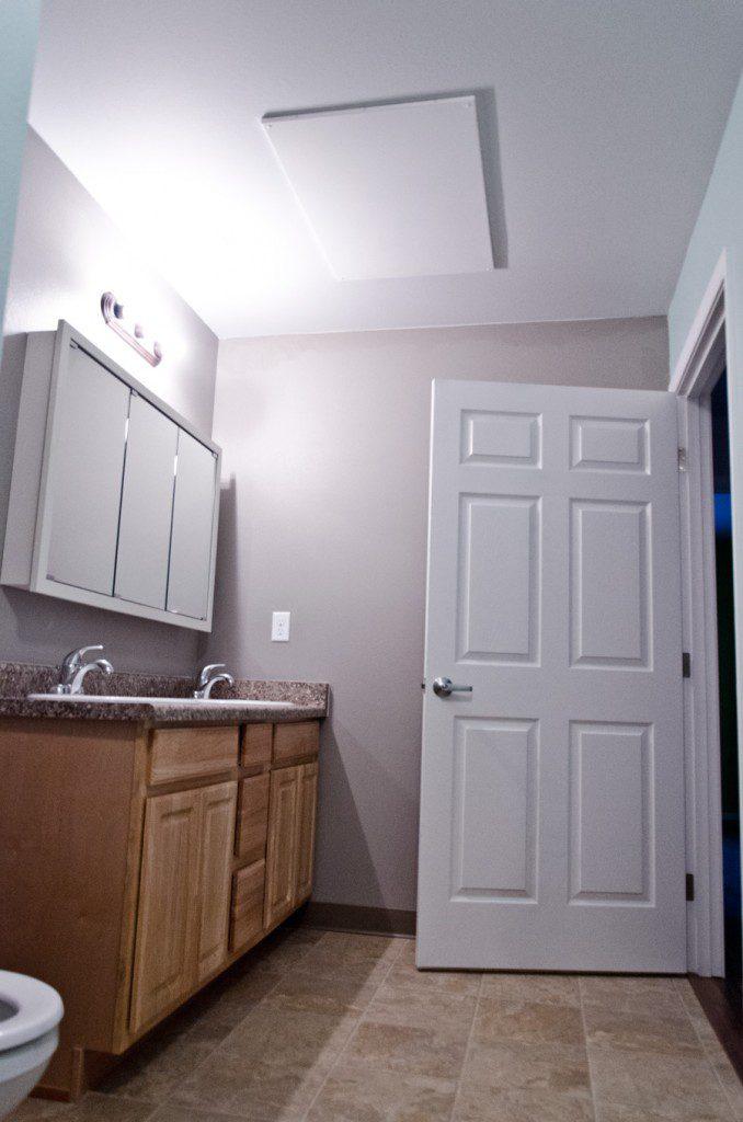 Ducoterra utility room radiant panel