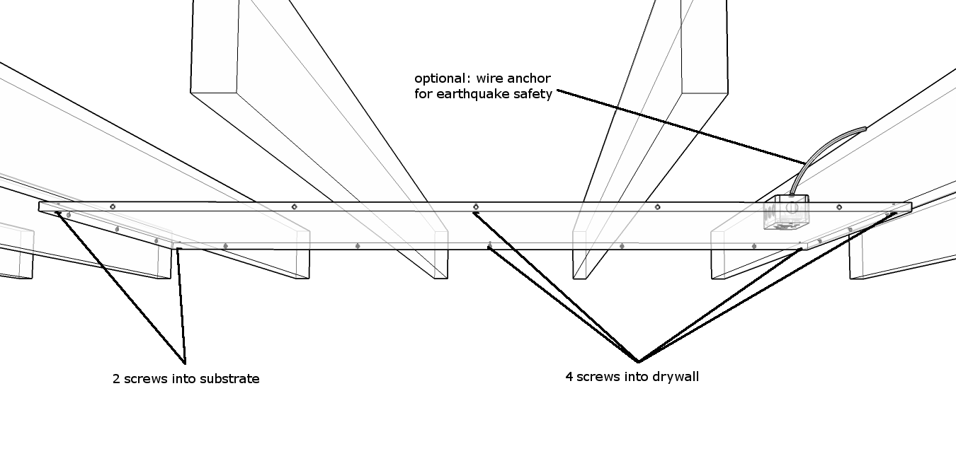 mounting perp joists